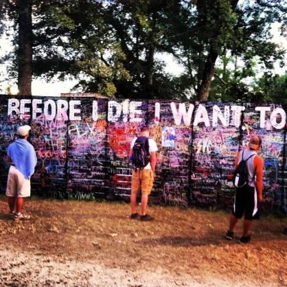 Bonnaroo Festival - Art Mural